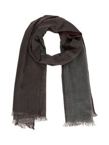 CONSTRUE - Esher-huivi - 1 GREY/WINE STRIPE | Stockmann