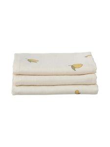 Konges Sløjd - Muslin Cloth -harso 3-pack - LEMON   Stockmann