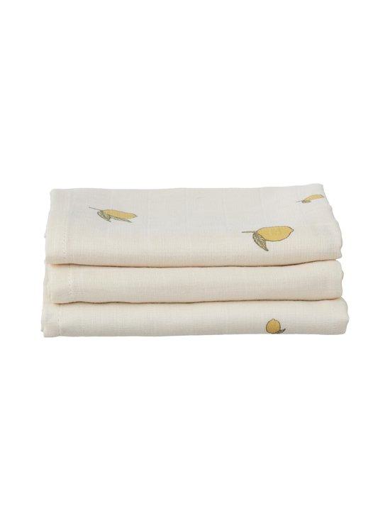 Konges Sløjd - Muslin Cloth -harso 3-pack - LEMON | Stockmann - photo 1