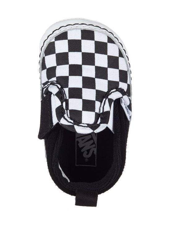 Vans - Checker Slip-On V Crib -kengät - (CHECKER) BLACK/TRUE WHITE | Stockmann - photo 2