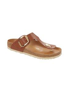 BIRKENSTOCK - Gizeh Big Buckle -sandaalit - COGNAC | Stockmann