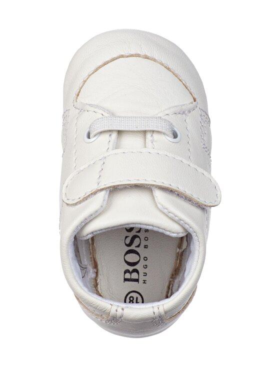 Hugo Boss Kidswear - Slippers Newborn Unisex -nahkatossut - 10B WHITE | Stockmann - photo 2
