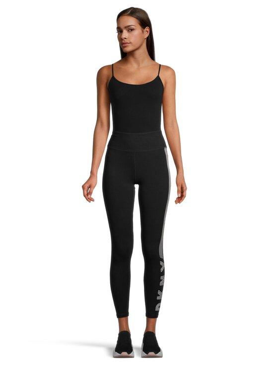 DKNY Sport - Track Logo High Waist -leggingsit - BLW BLK/WHT   Stockmann - photo 2