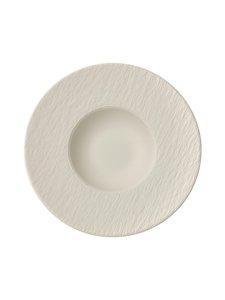 Villeroy & Boch - Manufacture Rock Blanc Pasta Plate -lautanen 29 cm - WHITE | Stockmann