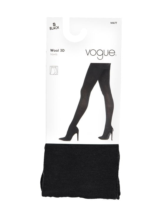 Vogue - Wool Blend -sukkahousut - BLACK (MUSTA)   Stockmann - photo 1