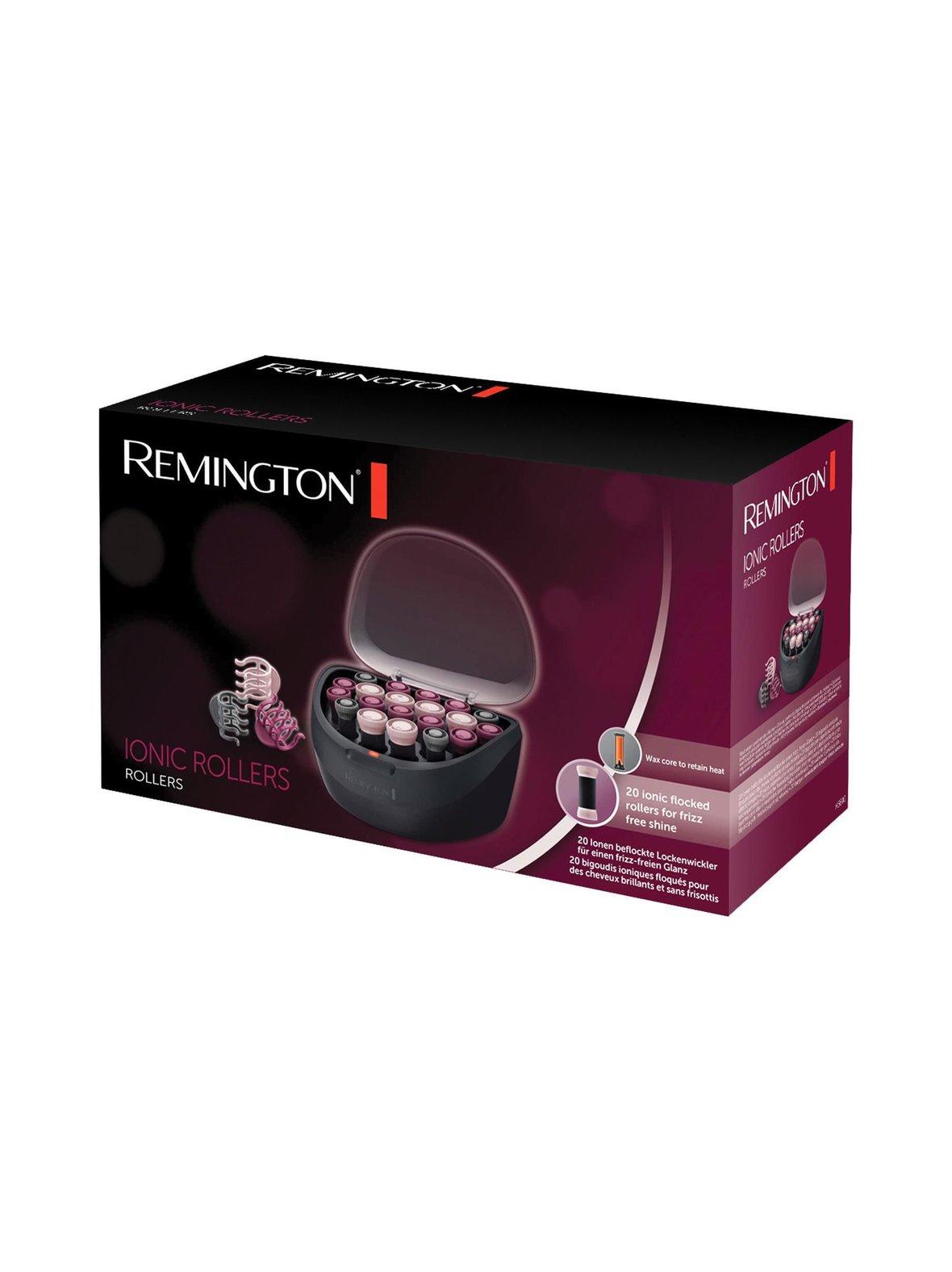 Musta Remington H5600 -ionisoivat lämpörullat  4d040ba26d