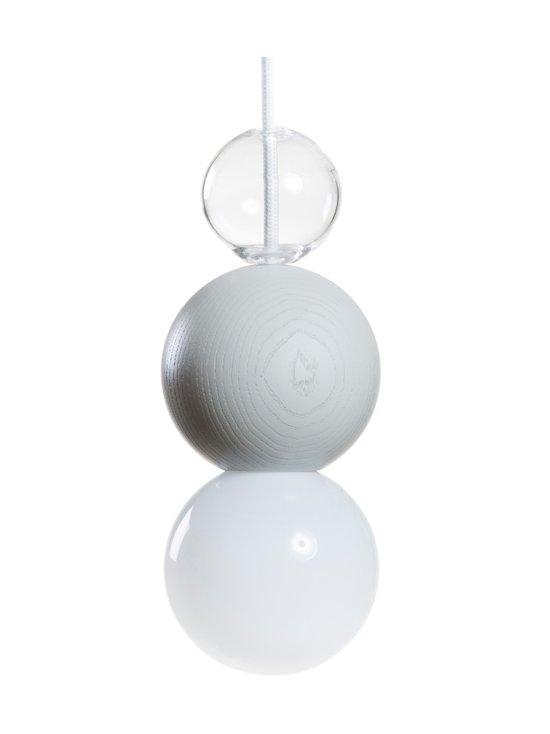 QUU Design - Medium LGG -riippuvalaisin 9,5 x 15,5 cm - LIGHT GREY/GLASS | Stockmann - photo 1