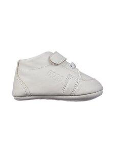 Hugo Boss Kidswear - Slippers Newborn Unisex -nahkatossut - 10B WHITE | Stockmann