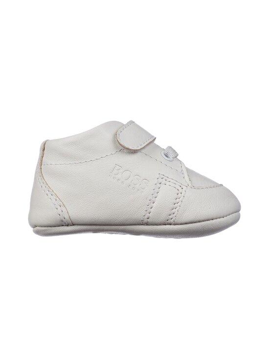 Hugo Boss Kidswear - Slippers Newborn Unisex -nahkatossut - 10B WHITE | Stockmann - photo 1