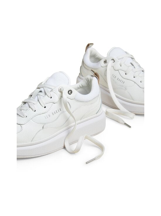 Ted Baker London - Tallee Platform Sole -nahkasneakerit - WHITE | Stockmann - photo 3