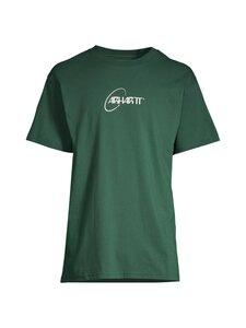 Carhartt WIP - S/S Orbit T-Shirt -paita - TREEHOUSE / WHITE /---   Stockmann