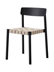 &tradition - Betty TK1 -tuoli - BLACK / NATURAL WEBBING   Stockmann