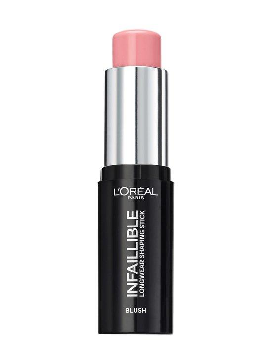 L'Oréal Paris - Infaillible Longwear Shaping Blush Stick -poskipunapuikko - 001 SEXY FLUSH | Stockmann - photo 2