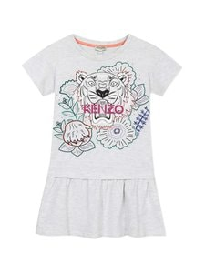 KENZO KIDS - Tiger-mekko - 23 LIGHT GREY MARL | Stockmann