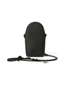 Kenzo - Onda Leather Crossbody Phone Holder -nahkalaukku - BLACK | Stockmann