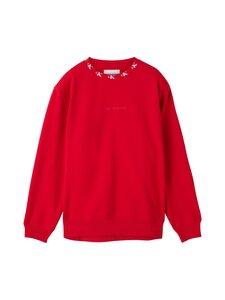 Calvin Klein Jeans Plus - Plus CK Logo Trim Neck -collegepaita - XME RED HOT   Stockmann