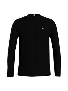 Tommy Hilfiger - Essential Tommy LS Tee -paita - BDS BLACK   Stockmann