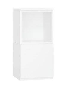 Lundia - Fuuga-yöpöytä, vasen 35 x 68 x 32 cm - WHITE PAINTED MDF | Stockmann