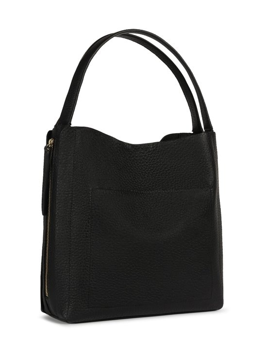 Furla - Grace M Hobo -nahkalaukku - P1900 NERO+TALCO H | Stockmann - photo 2