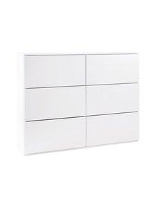 Lundia - Fuuga-laatikosto 128 x 34 x 100 cm - WHITE | Stockmann