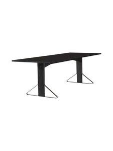 Artek - REB002 Kaari -pöytä, HPL - BLACK GLOSSY/BLACK OAK (MUSTA) | Stockmann