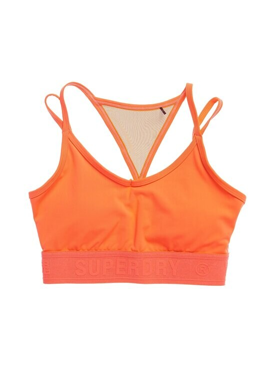 Superdry Sport - Training Strappy -urheiluliivit - 3HR NEON RED | Stockmann - photo 1