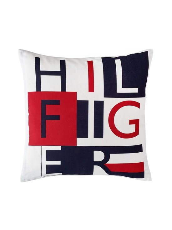 Tommy Hilfiger - Graphical-tyynynpäällinen 40 x 40 cm - NAVY | Stockmann - photo 1