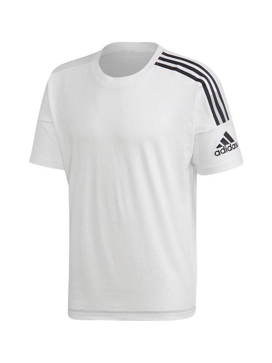 adidas Performance - adidas Z.N.E. 3-Stripes Tee -paita - WHITE WHITE | Stockmann - photo 1