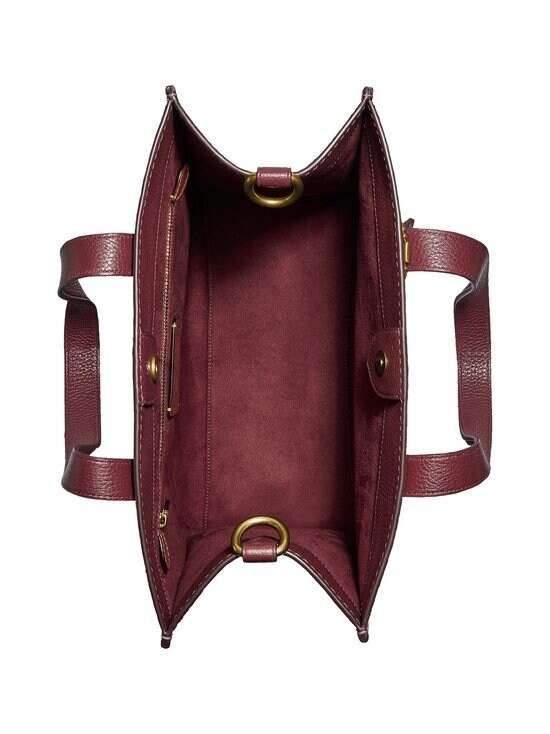 Coach - Field Tote In Colorblock With Coach Badge -nahkalaukku - B4NGU B4/VINTAGE PINK MULTI | Stockmann - photo 3