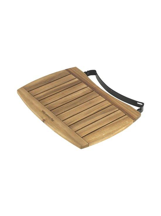 Acacia Wood EGG Mates -sivupöydät L-kokoiseen grilliin