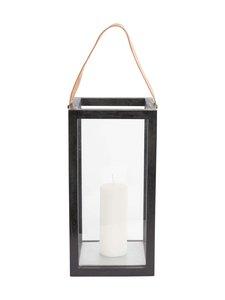 Muubs - Lantern L -lyhty 20 x 40 x 20 cm - BLACK | Stockmann