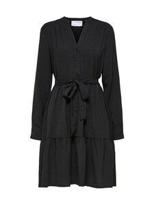 Selected - SlfMivia LS Short Dress -mekko - BLACK | Stockmann