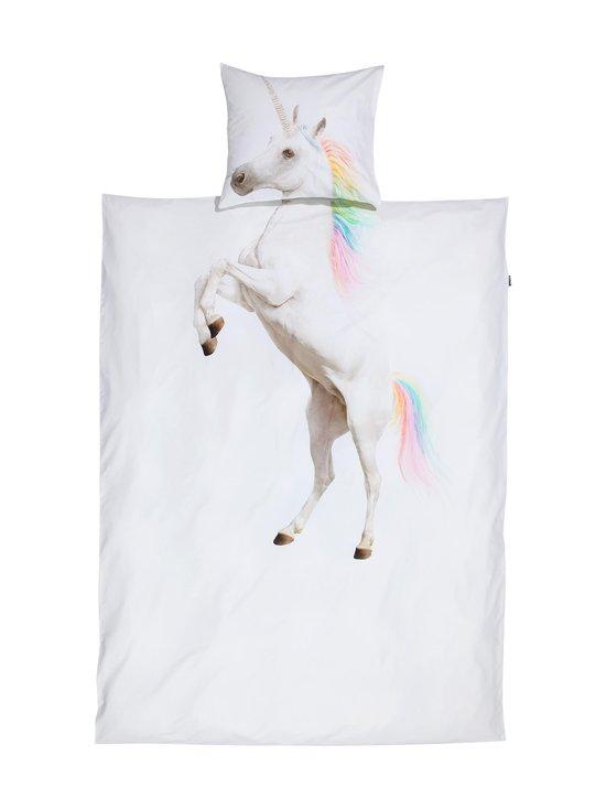 Snurk - Unicorn-pussilakanasetti 150 x 210 + 50 x 60 cm - WHITE   Stockmann - photo 1