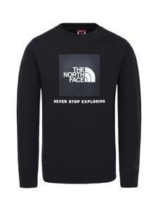The North Face - Y Box Crew -collegepaita - K3H1 TNF BLK/GLOW IN THE DARK | Stockmann