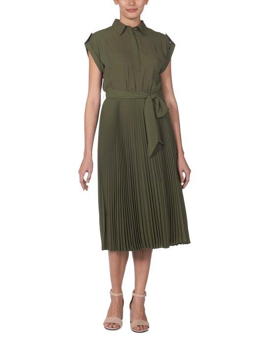 Lauren Ralph Lauren - Pleated Shirtdress -mekko - 2Z0C GREEN   Stockmann - photo 1