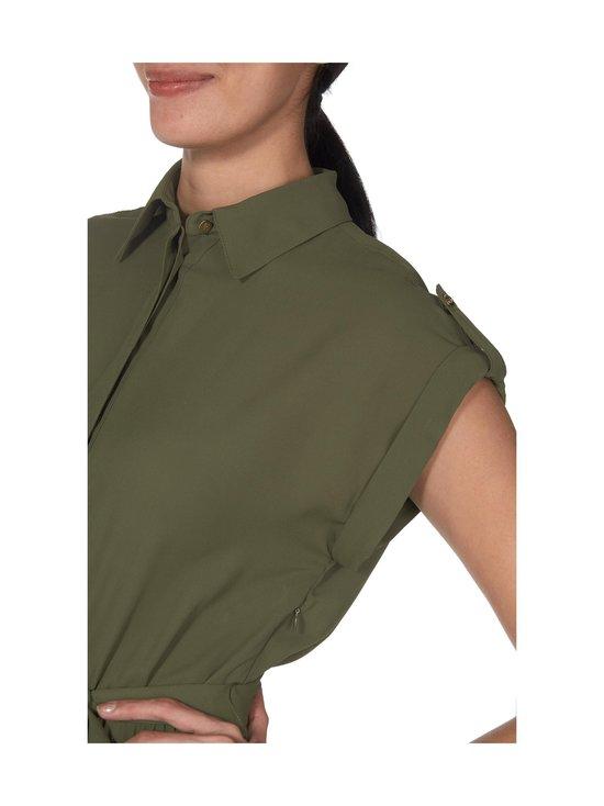 Lauren Ralph Lauren - Pleated Shirtdress -mekko - 2Z0C GREEN   Stockmann - photo 3