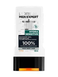 L'ORÉAL MEN EXPERT - Men Expert Hydra Sensitive -suihkugeeli 300 ml | Stockmann
