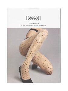 Wolford - Laetitia polka dots 20 den -sukkahousut - 9180 BLACK/BLACK | Stockmann