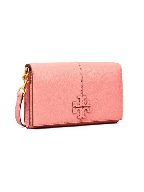 Tory Burch - McGraw Wallet Crossbody -nahkalaukku - 651 PINK MAGNOLIA | Stockmann - photo 2