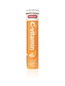 Friggs - C-Vitamin-poretabletti, ravintolisä 20 tabl. | Stockmann