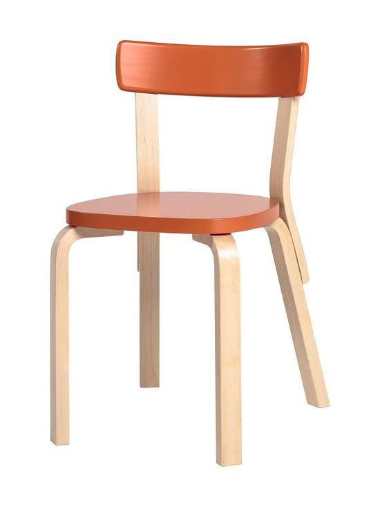Artek - 69-tuoli, koottava - KOIVU/ORANSSI   Stockmann - photo 1