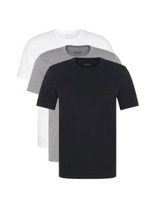 BOSS - T-paita 3-pack - BLACK/GREY/WHITE | Stockmann