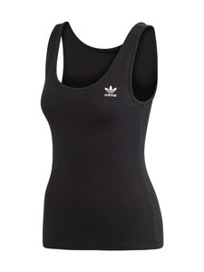 adidas Originals - Tank Top -toppi - BLACK/WHITE | Stockmann