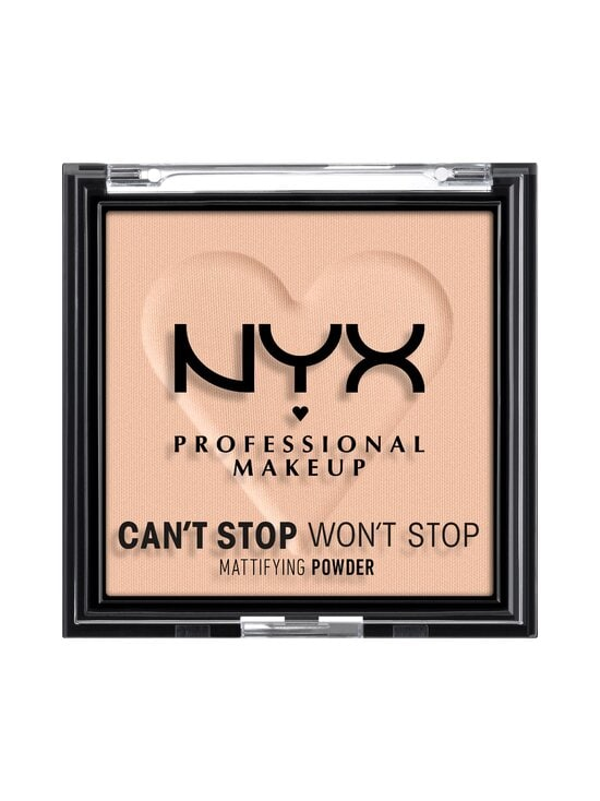 NYX Professional Makeup - Can't Stop Won't Stop Mattifying Powder -meikkipuuteri 6 g - 04 MEDIUM | Stockmann - photo 1