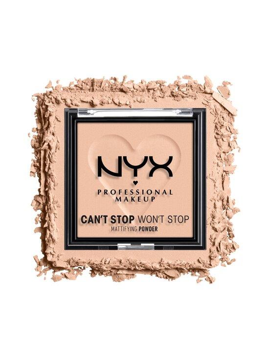 NYX Professional Makeup - Can't Stop Won't Stop Mattifying Powder -meikkipuuteri 6 g - 04 MEDIUM | Stockmann - photo 2