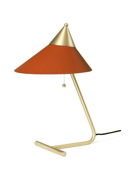 Warm Nordic - Brass Top Table Lamp -pöytävalaisin - RUSTY RED   Stockmann - photo 1