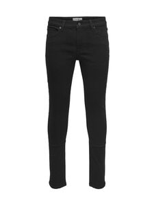 Only & Sons - OnsWarp Skinny -farkut - BLACK DENIM | Stockmann