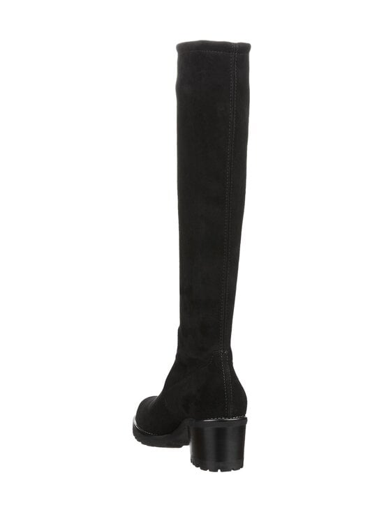 PETER KAISER - Dana Knee High Stretch Suede -mokkanahkasaappaat - BLACK | Stockmann - photo 2