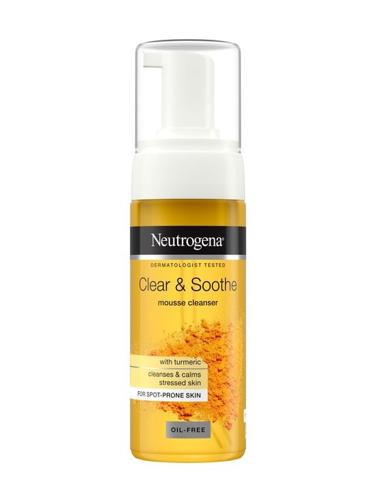 Neutrogena - Clear & Soothe Mousse Cleanser -puhdistusvaahto 150 ml - NO COLOR | Stockmann - photo 1