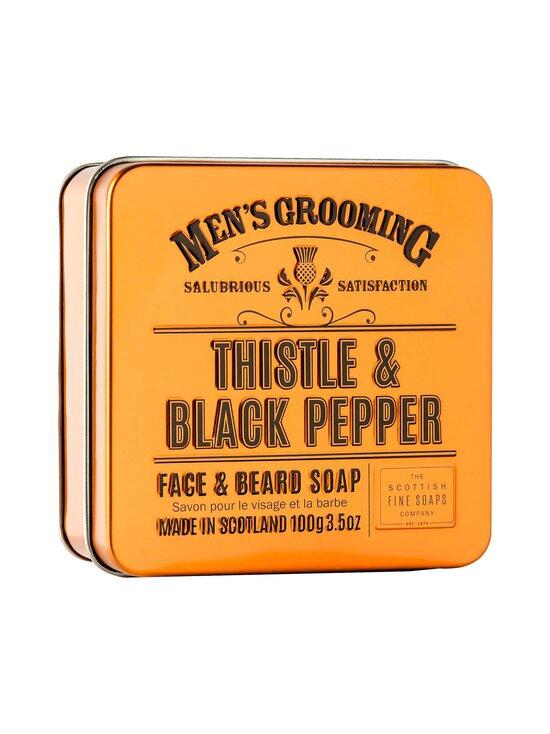 The Scottish Fine Soaps - Thistle & Black Pepper -partasaippua 100 g - NOCOL | Stockmann - photo 1